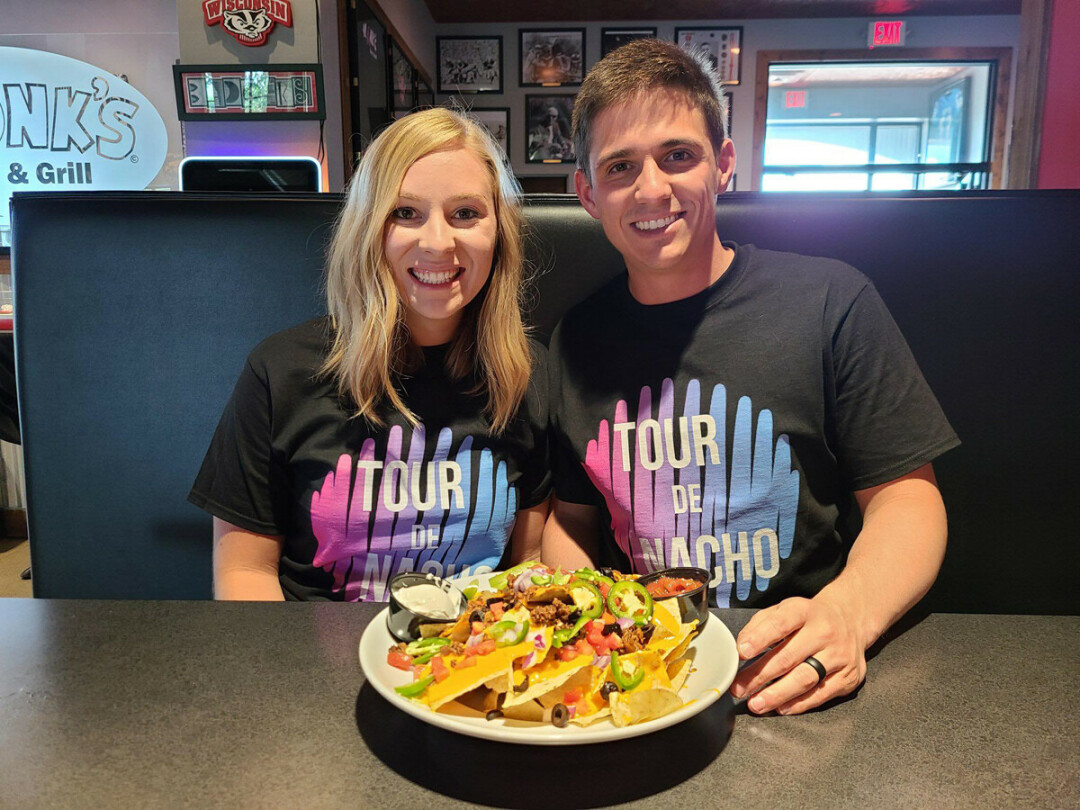 ADVENTURES IN QUESO. Rachael and Parker LeMire are on a mission to try and rank all the nachos in Eau Claire and Altoona.