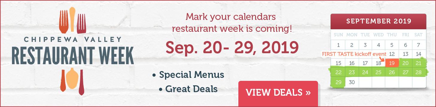 Eau Claire Restaurant Specials And Deals
